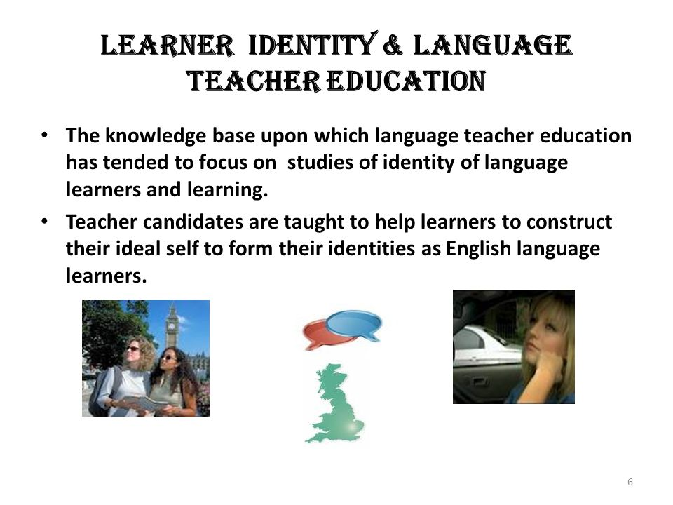 CONCLUSION The ideal language teacher self, which constitutes the identity goals and aspirations of teachers could be formed in pre-service education at universities, but the ought to language teacher self is formed in teaching at schools When a conflict occurs between the two, then the feared language teacher self is formed.