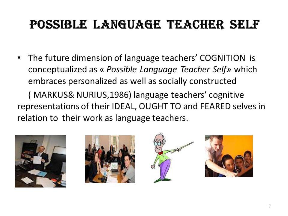QUESTIONNAIRE Write a definition of an English teacher.