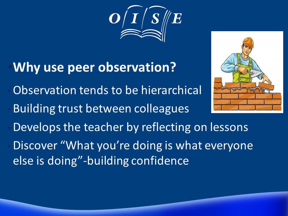 Peer Observation