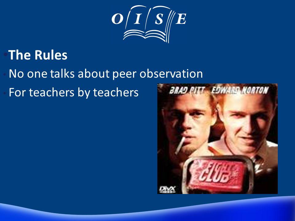 How does it work? The senior teacher covers each teacher for a lesson The teacher can observe one (or two) teachers