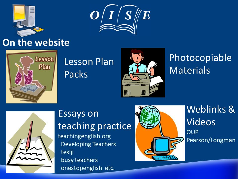 OISE Internal website