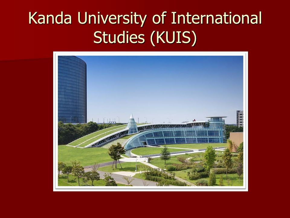 Kanda University of International Studies (KUIS)