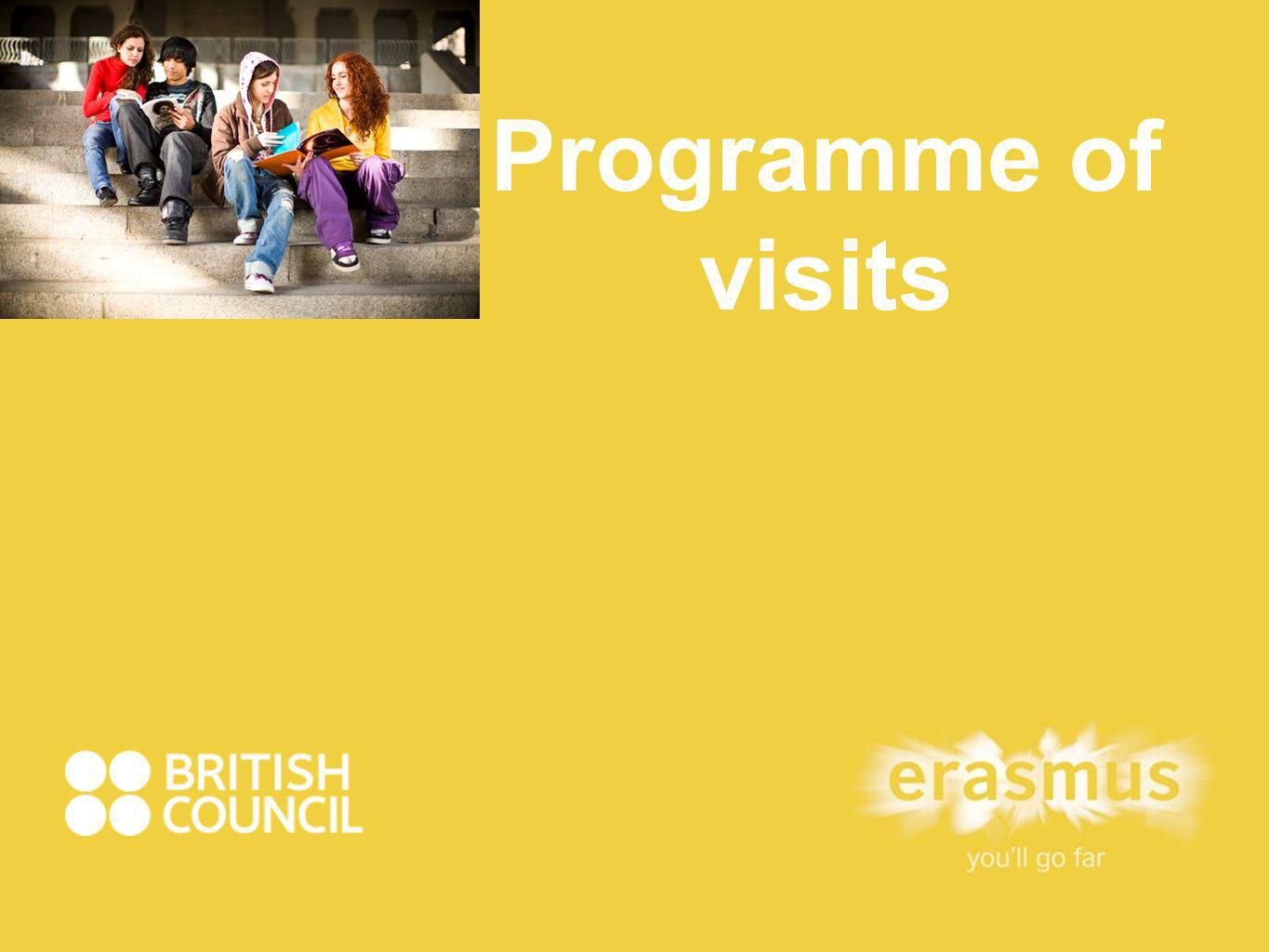 Programme of visits