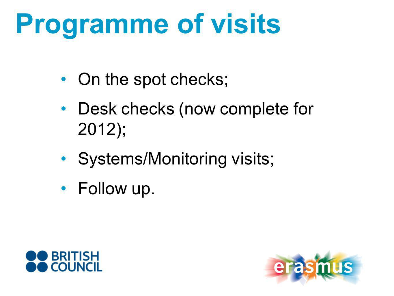 A growing number of HEIs now pass their visits with no issues raised! Good practice