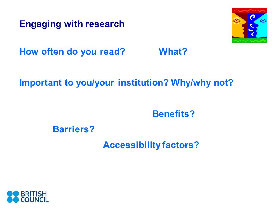 Engaging with research How often do you read What.