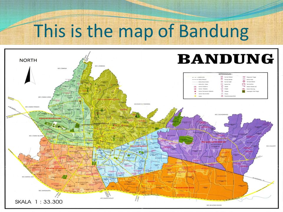 This is the map of West Java