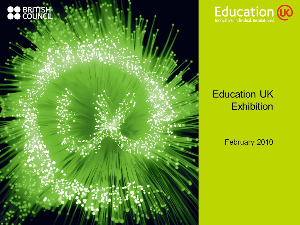 Education UK Exhibition February 2010
