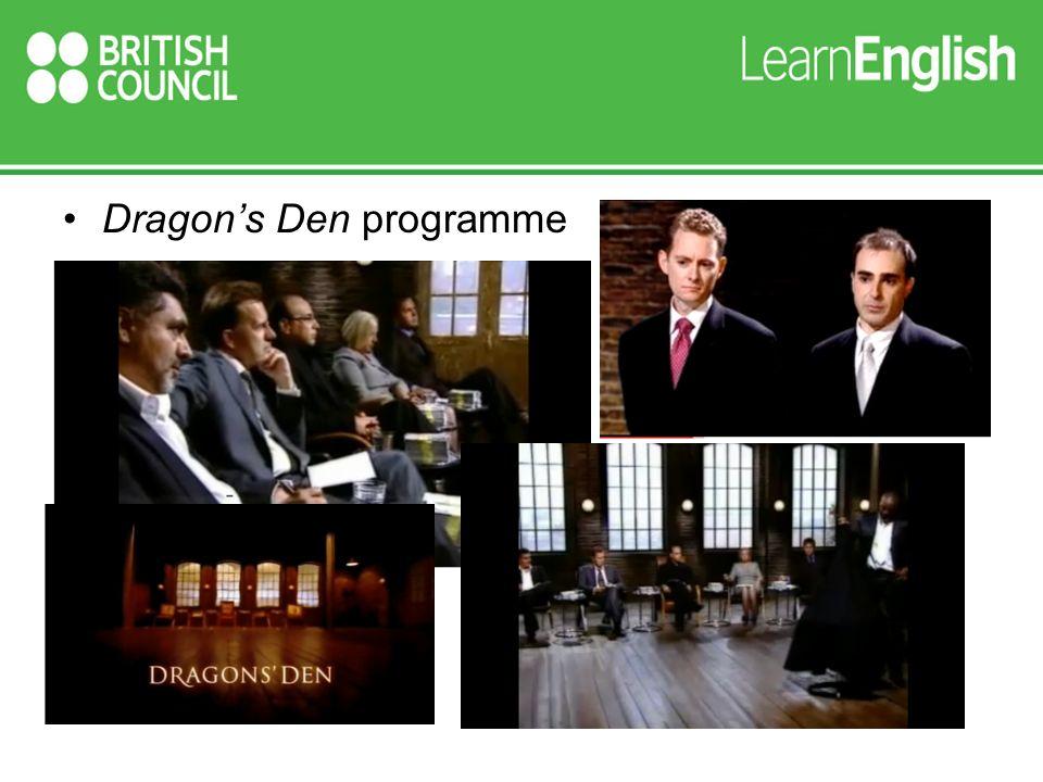 Dragons Den programme