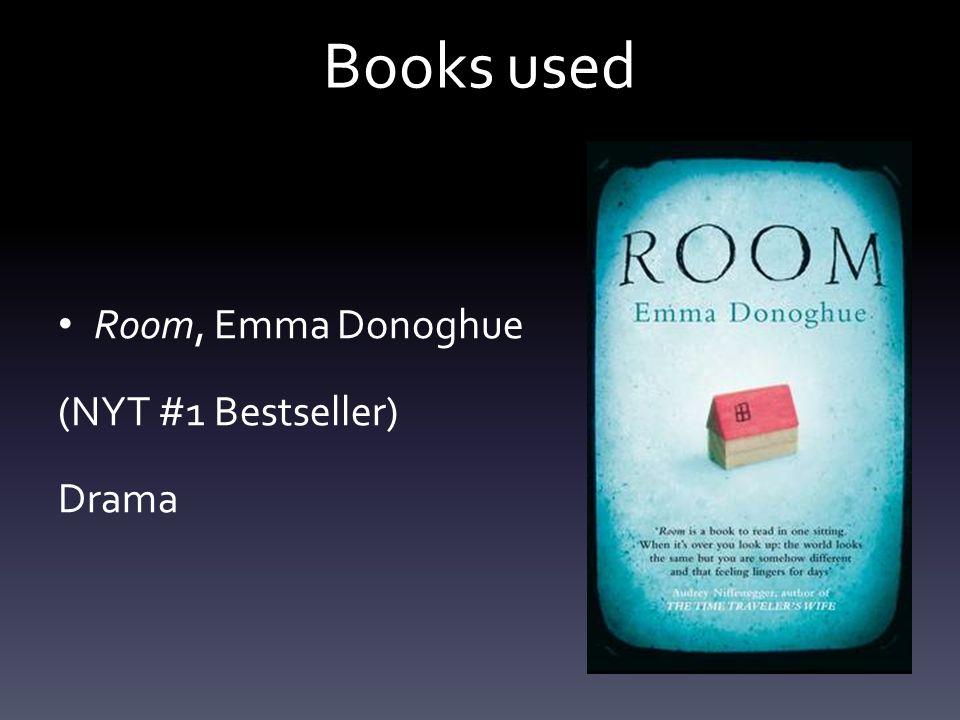 Books used Room, Emma Donoghue (NYT #1 Bestseller) Drama