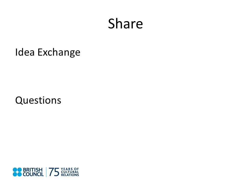 Share Idea Exchange Questions
