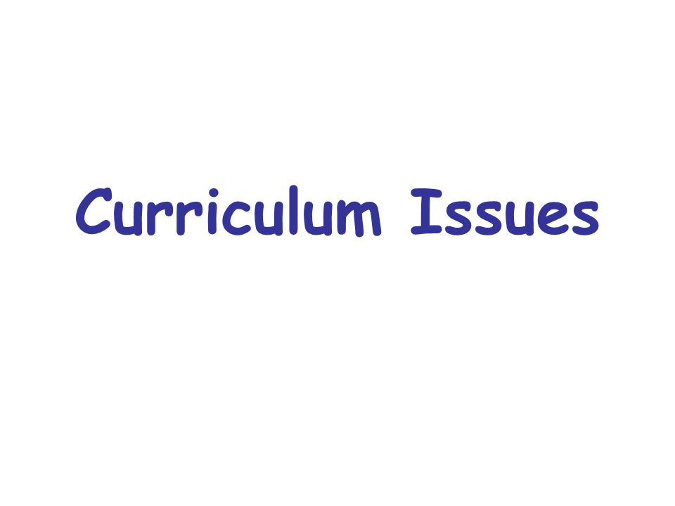 Is there a curriculum that directs current teaching activities to the achievement of language teaching aims.
