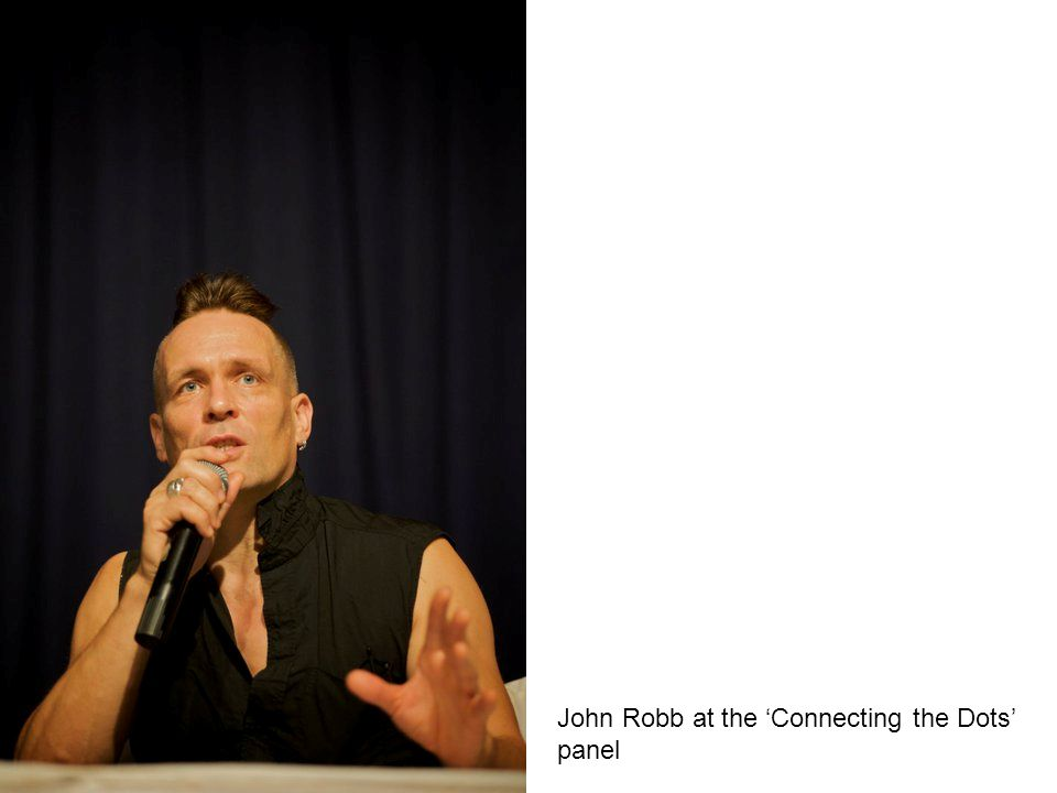 John Robb at the Connecting the Dots panel