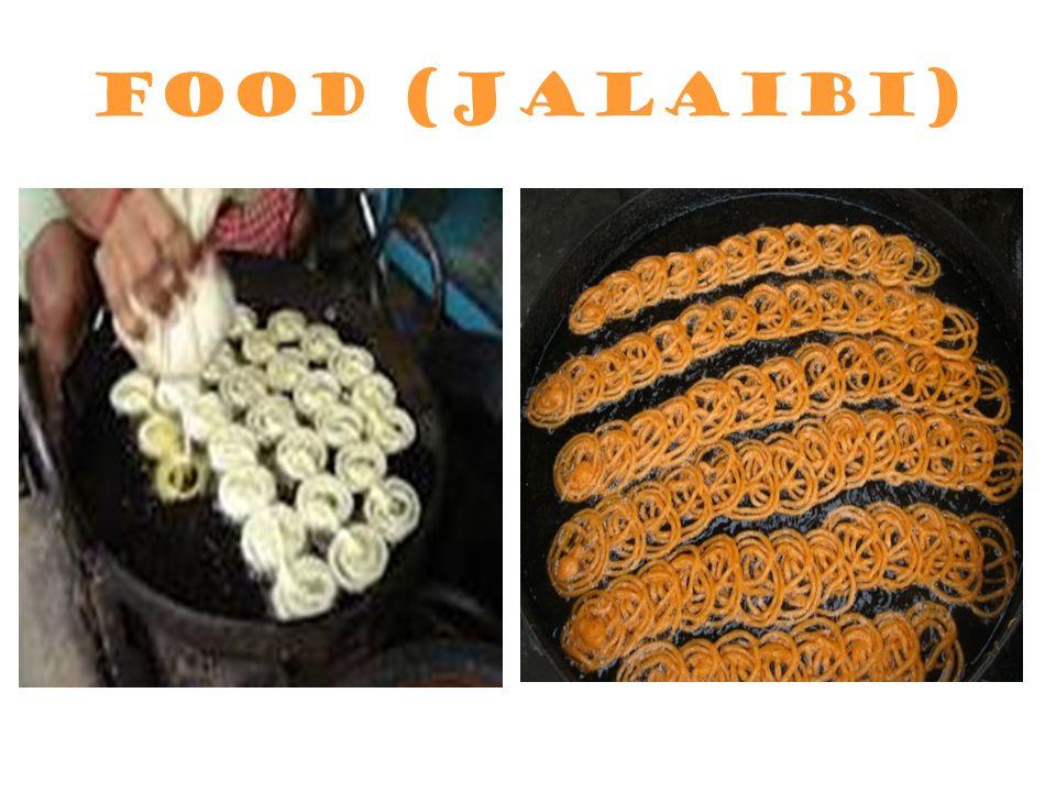 Food (Jalaibi)
