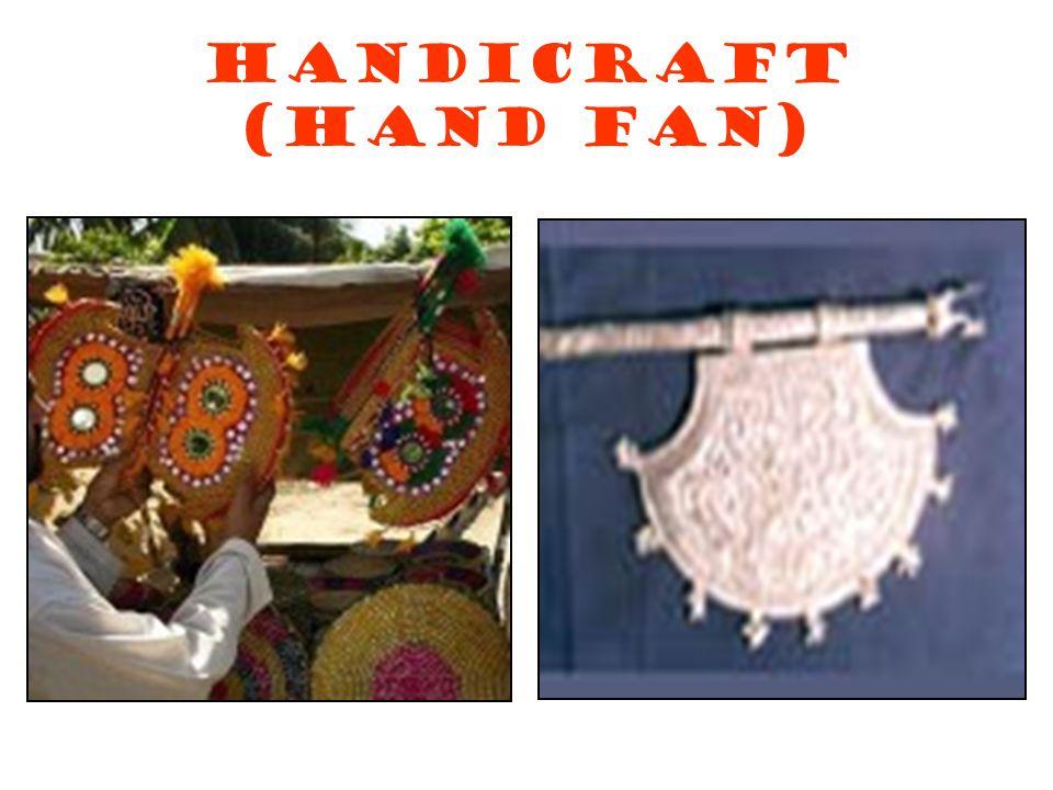 Handicraft (Hand Fan)