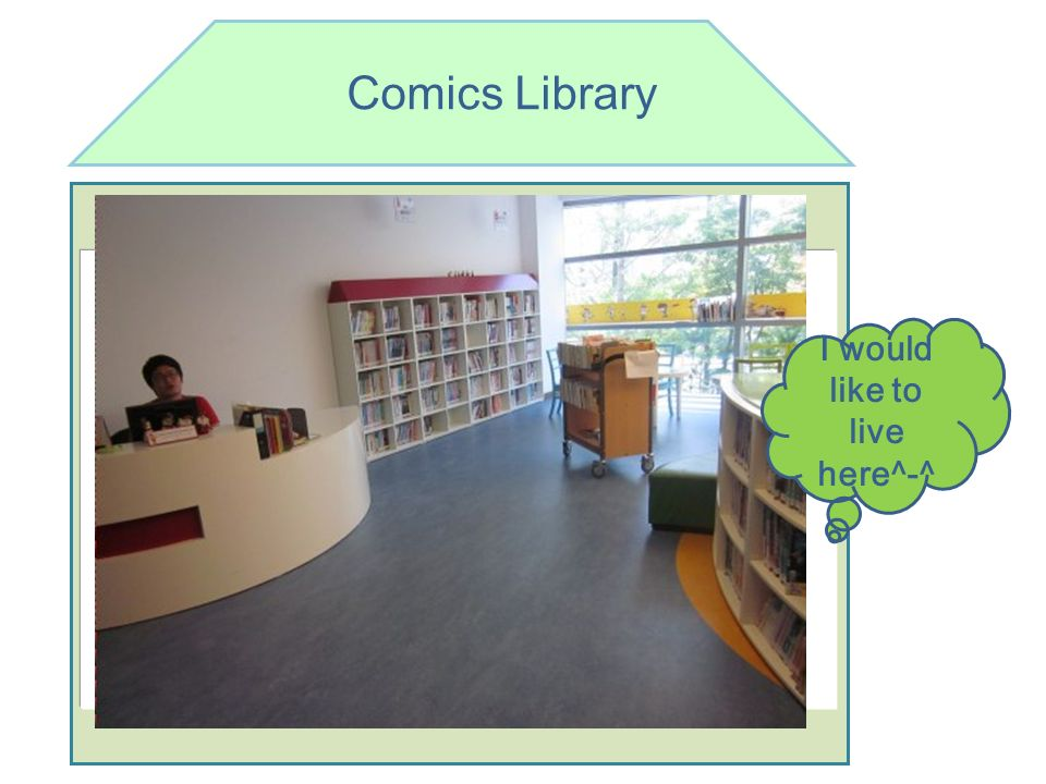 Comics Library ^ I would like to live here^-^