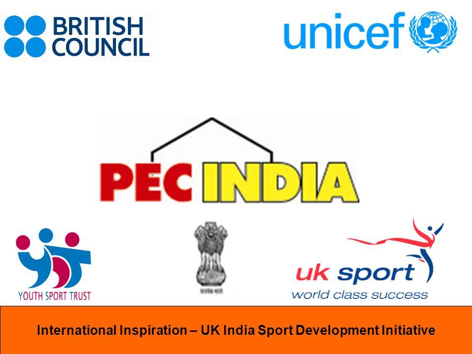 International InspirationInternational Inspiration – UK India Sport Development Initiative