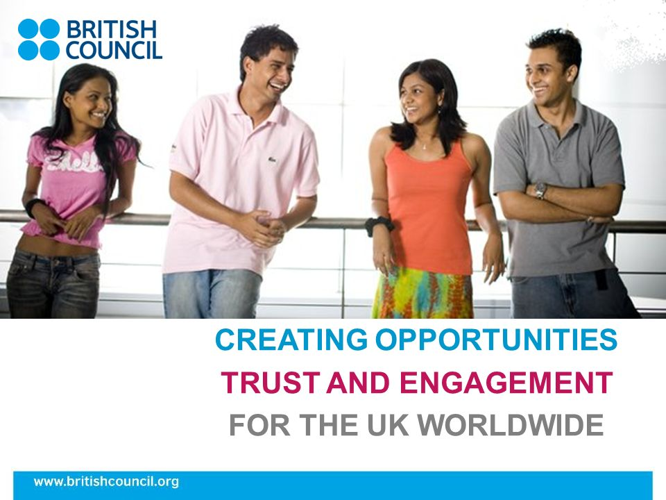 Working as an assistant General role Ambassador of the UK Supporting teaching of English language and culture Taking small groups, team teaching Getting involved in the life of a school and community