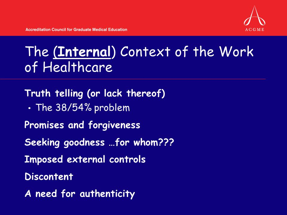 The National Context of Health Professional Formation Students or employees.