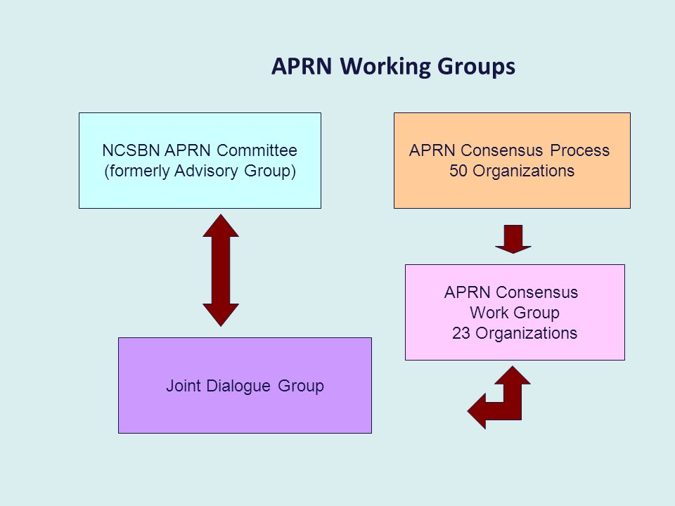Assumption for the Joint Dialogue Group Recommendations must address current issues facing the APRN community but should be future oriented.