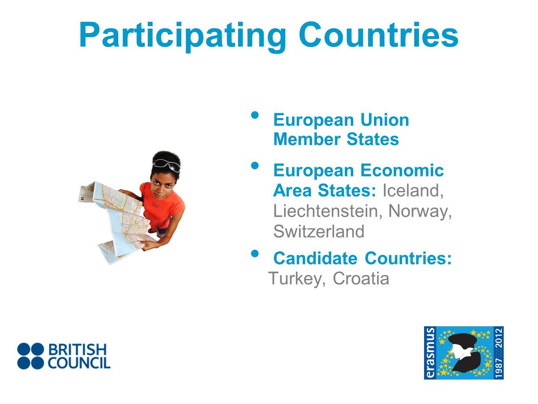 Participating Countries European Union Member States European Economic Area States: Iceland, Liechtenstein, Norway, Switzerland Candidate Countries: T