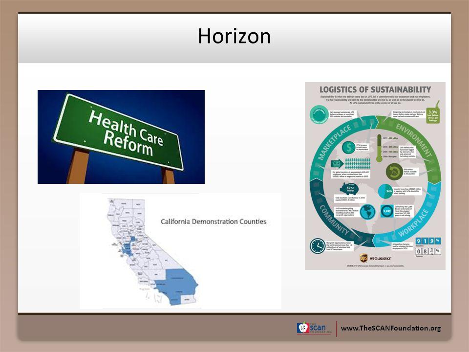 www.TheSCANFoundation.org Horizon