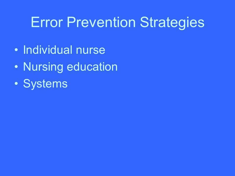 Individual nurse Nursing education Systems