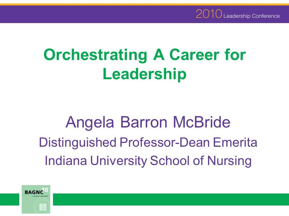 CAREER Career résumé lines, but more than a long list.