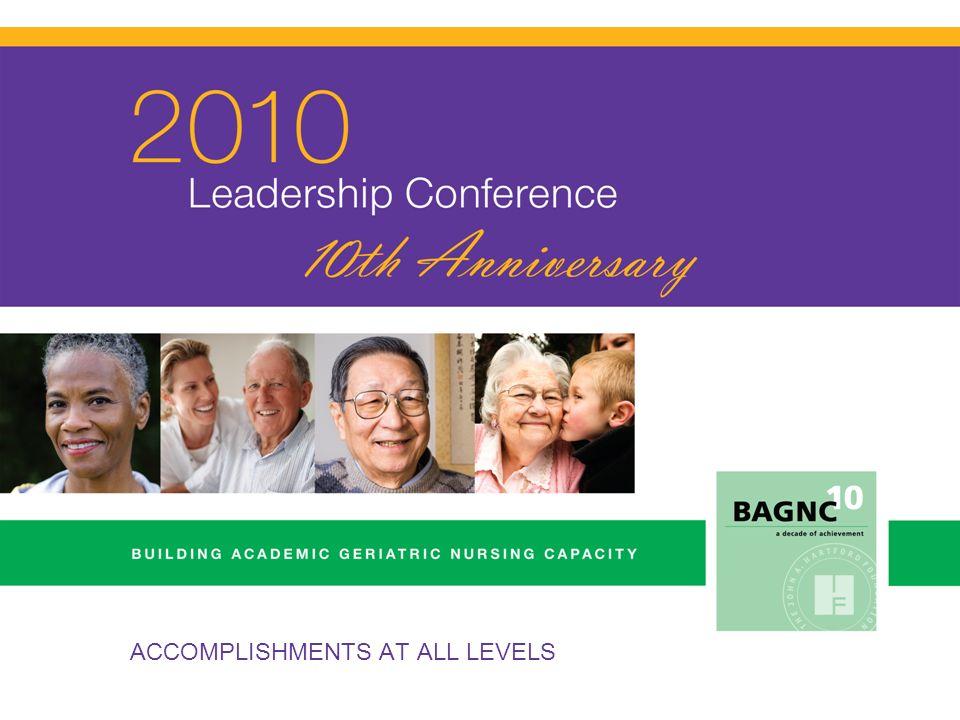 BAGNC Geriatric Nursing Faculty Leadership Collaboration Dissemination COORDINATING CENTER Collaboration