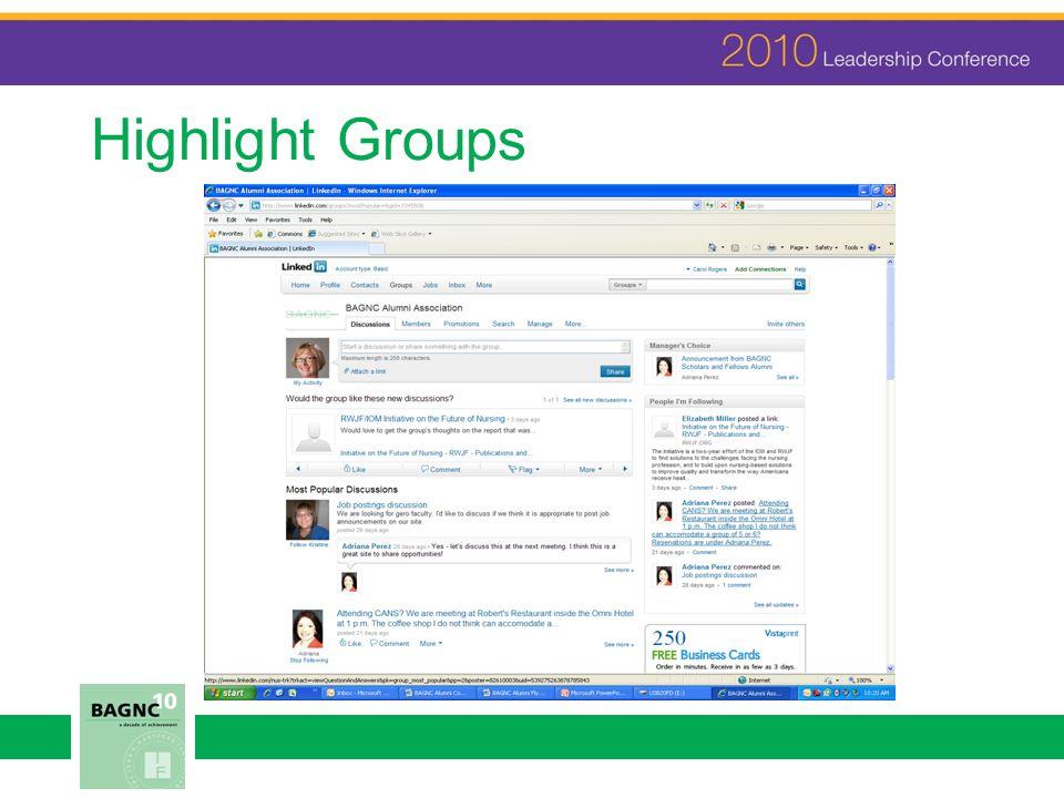 Highlight Groups