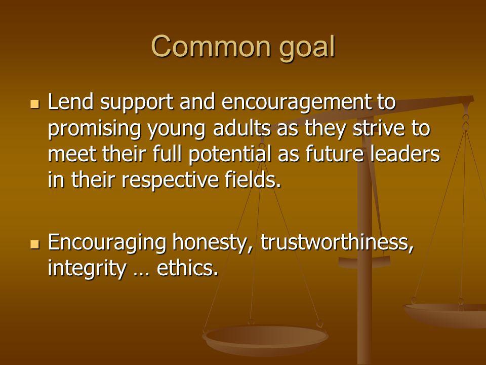 Program objectives 1.