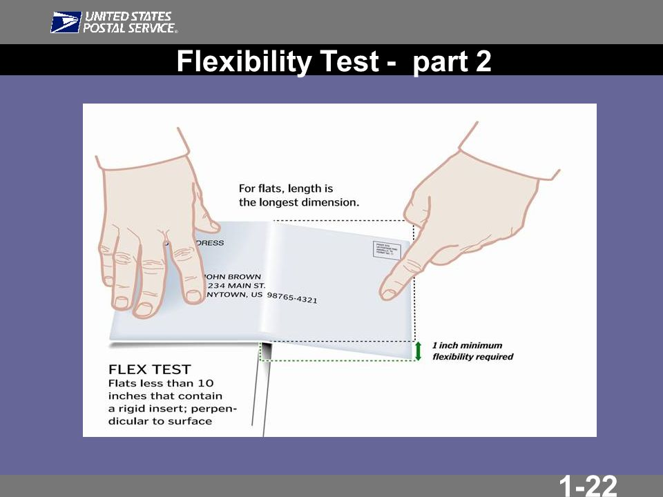 1-22 Flexibility Test - part 2