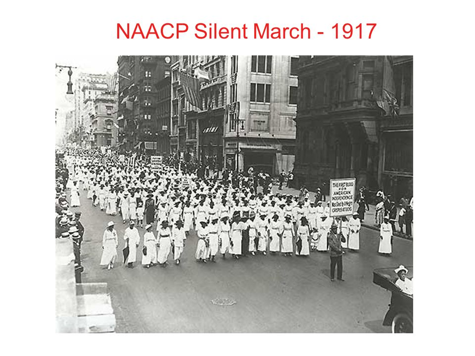 NAACP Silent March
