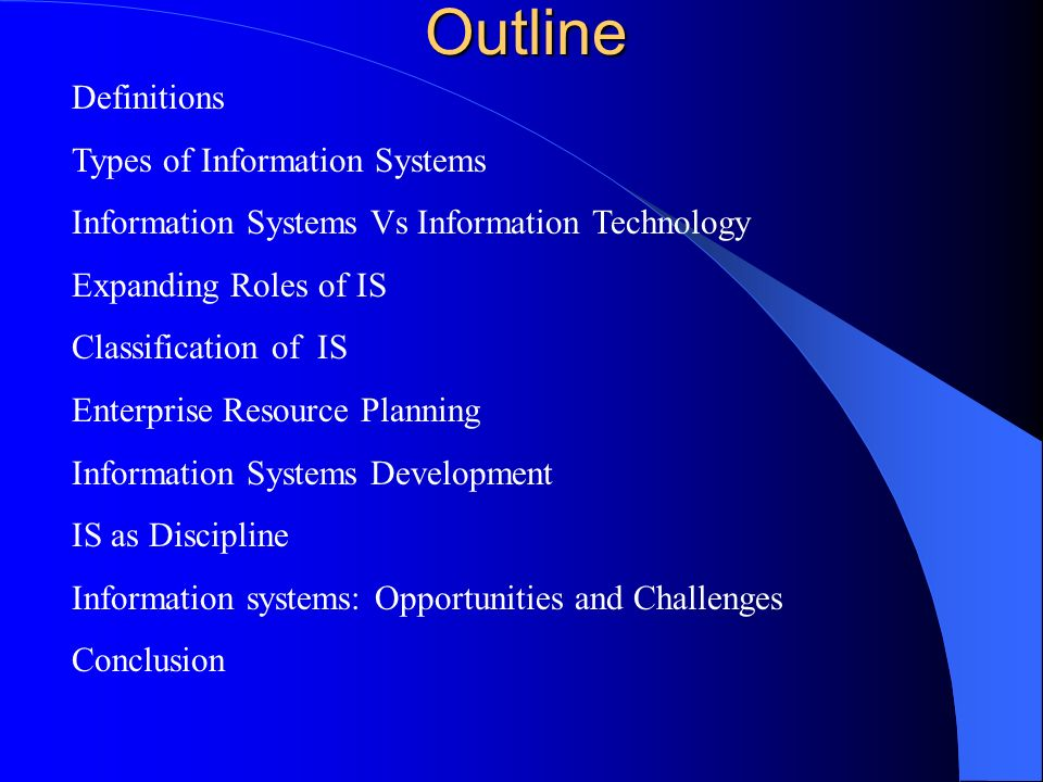 ii) Decision Support System Interactive support for non-routine decisions or problems End-users are more involved in creating a DSS than an MIS iii) Executive information systems provide critical information tailored to the information needs of executives