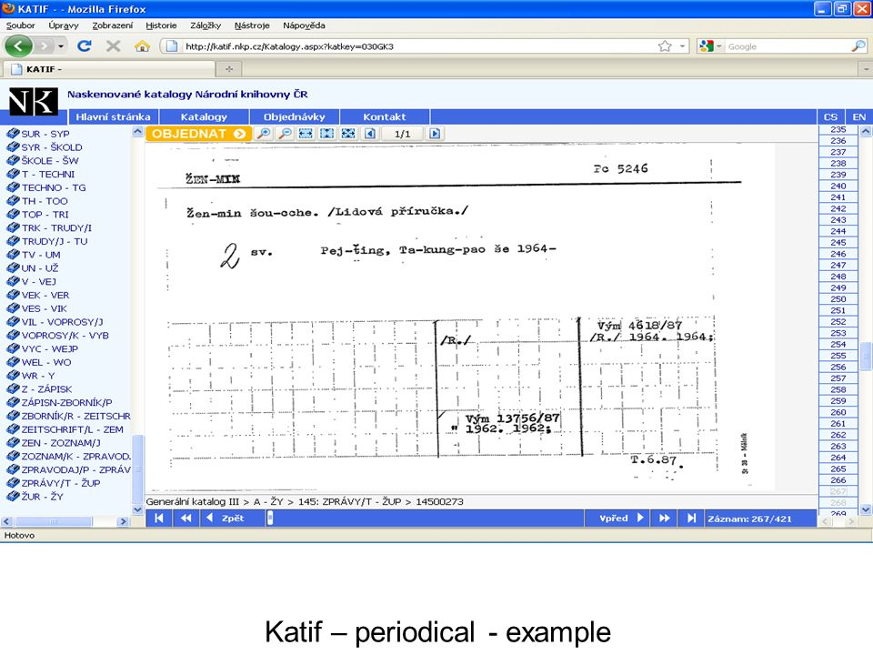 Katif – periodical - example
