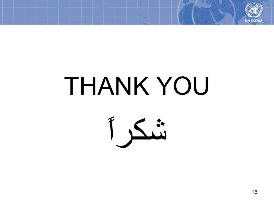 THANK YOU شكراً 15