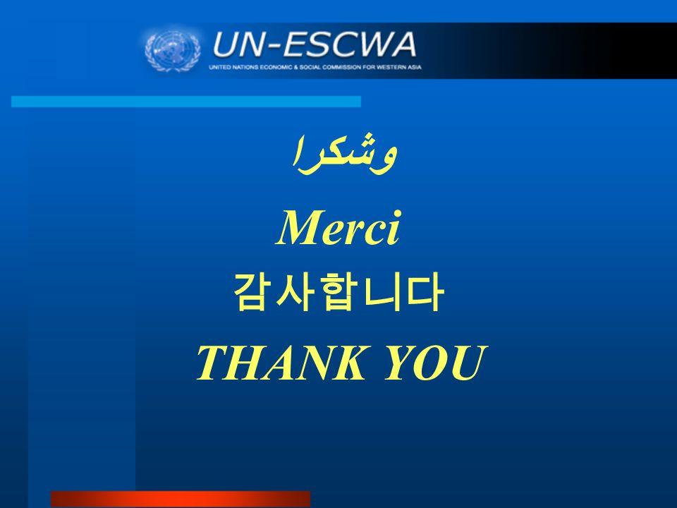 وشكرا Merci THANK YOU