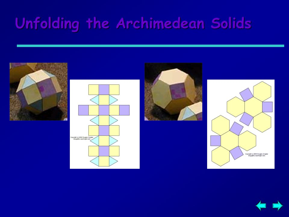 Unfolding the Archimedean Solids