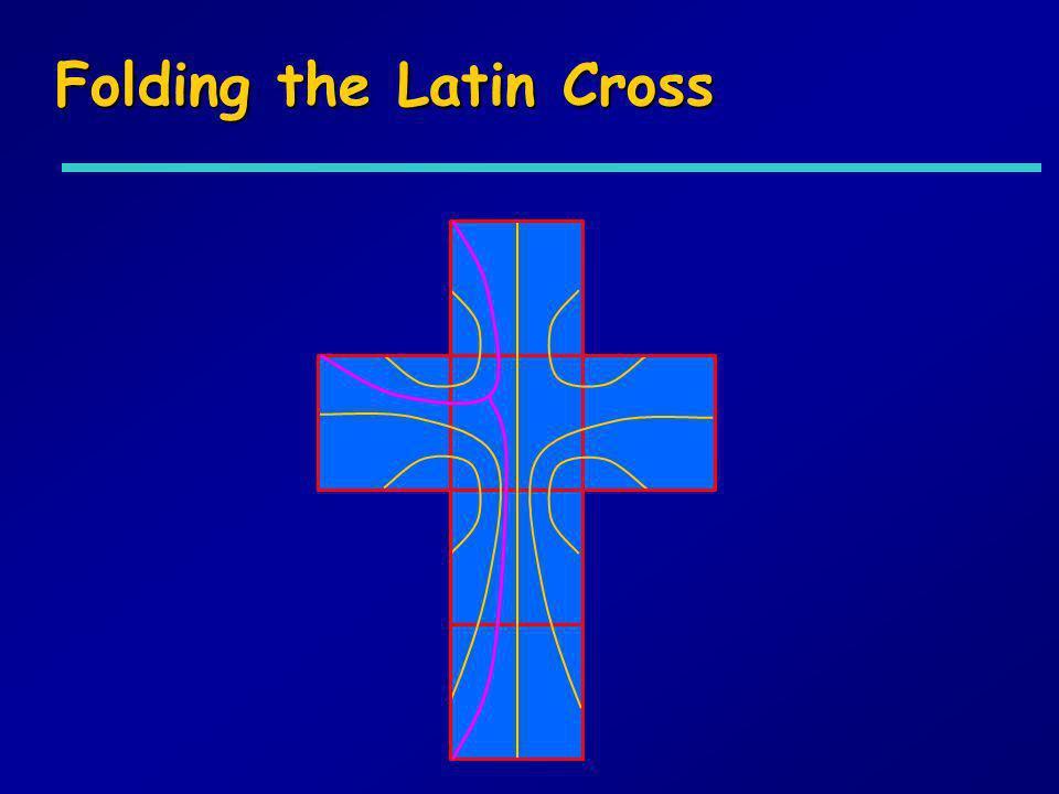 Folding the Latin Cross