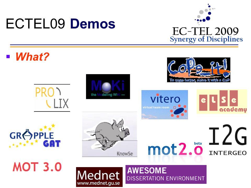 ECTEL09 Demos What GAT