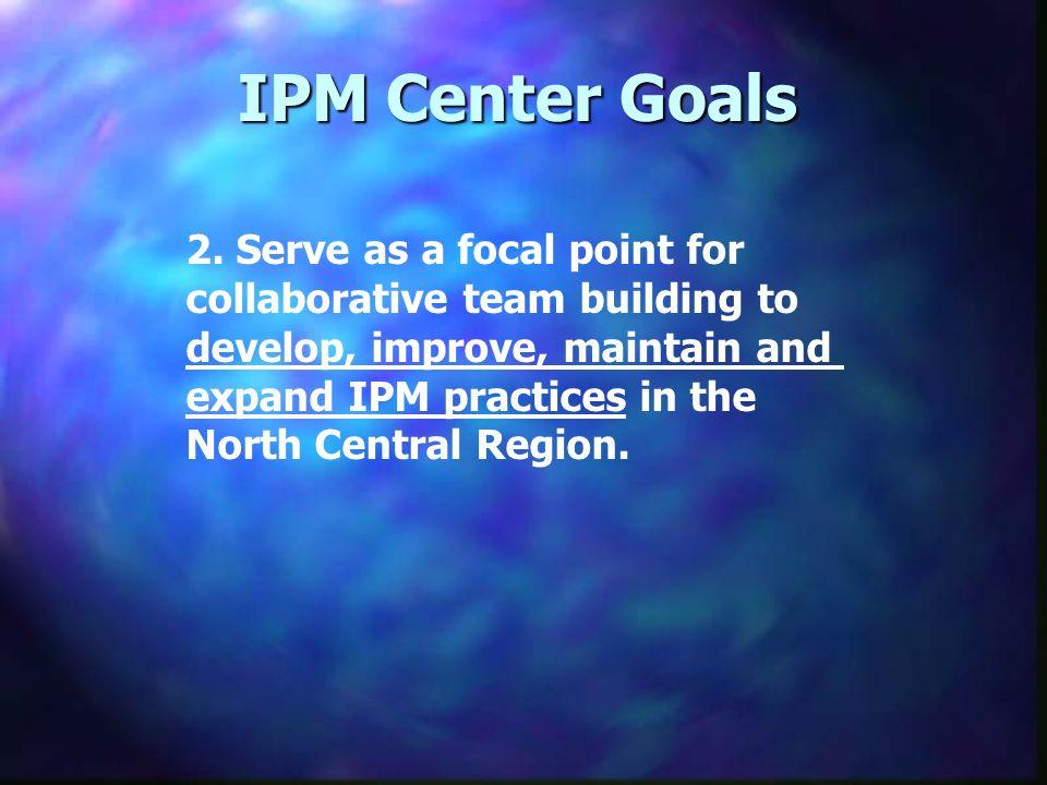 IPM Center Goals 2.