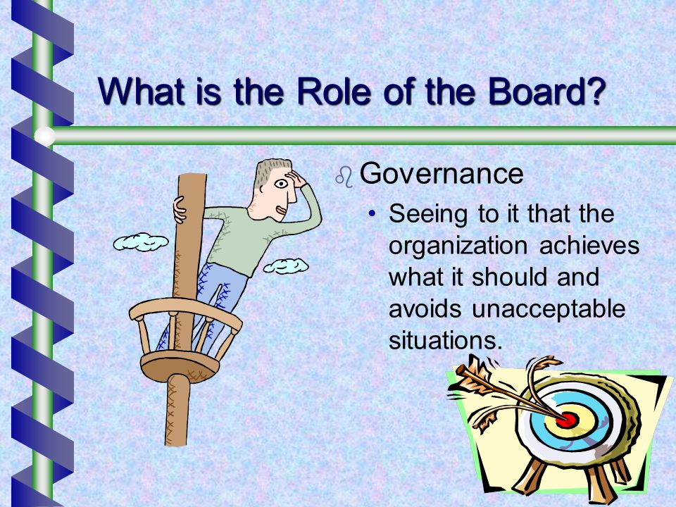 What is the Role of the Board.