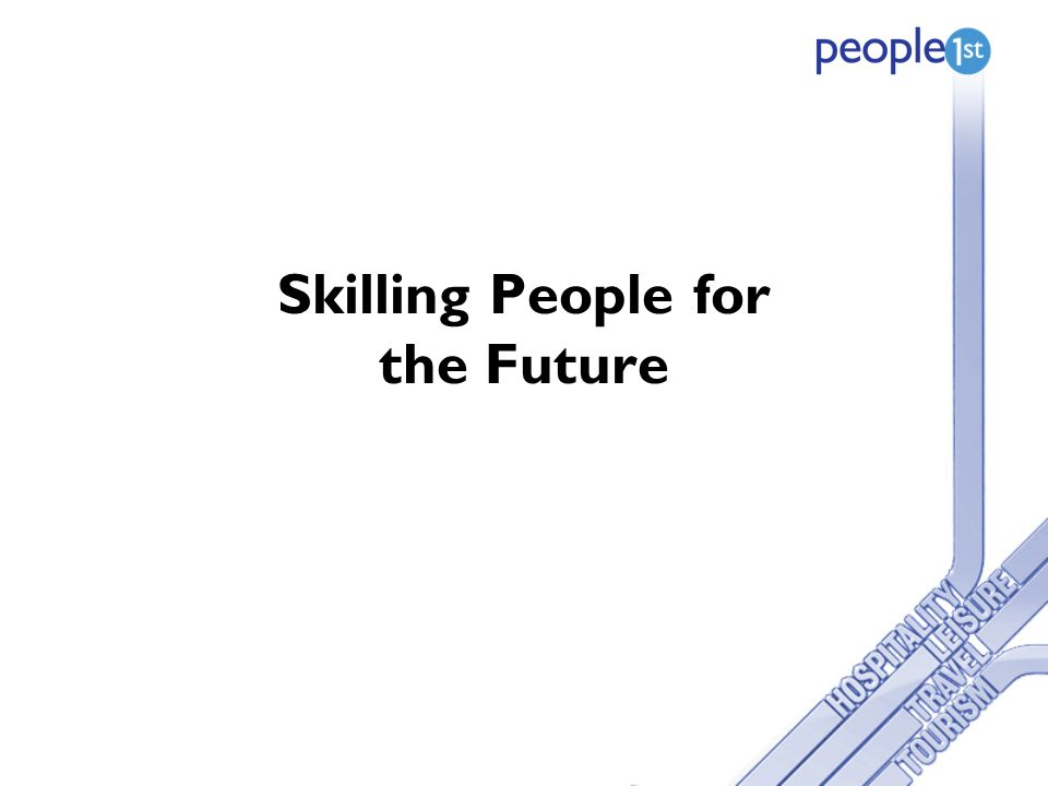 Skilling People for the Future