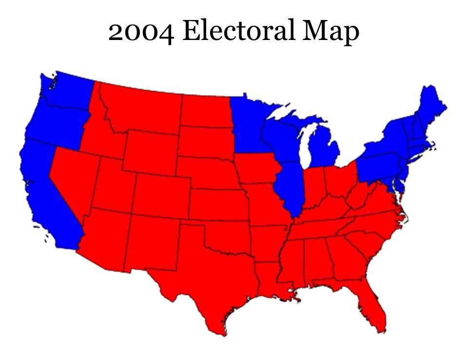 2004 Electoral Map