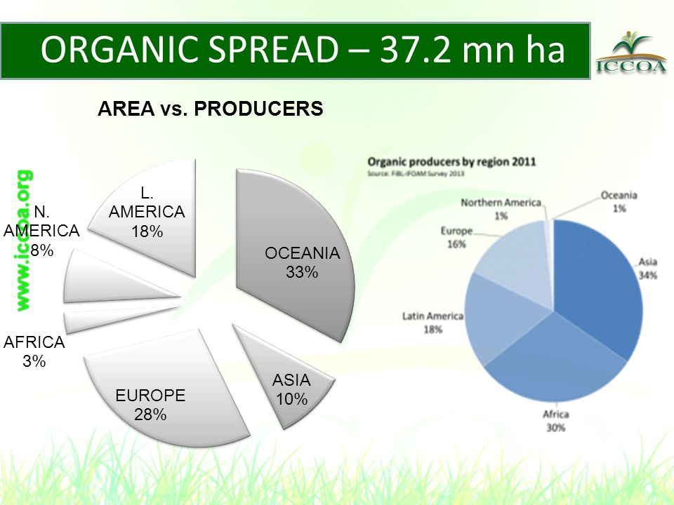 INDIA - DEVELOPMENTS APEDA, Ministry of Commerce – –National Program on Organic Production (NPOP), Govt of India, since 2001National Standards: NSOP- Acquired status of equivalence with EU and NOP standards.