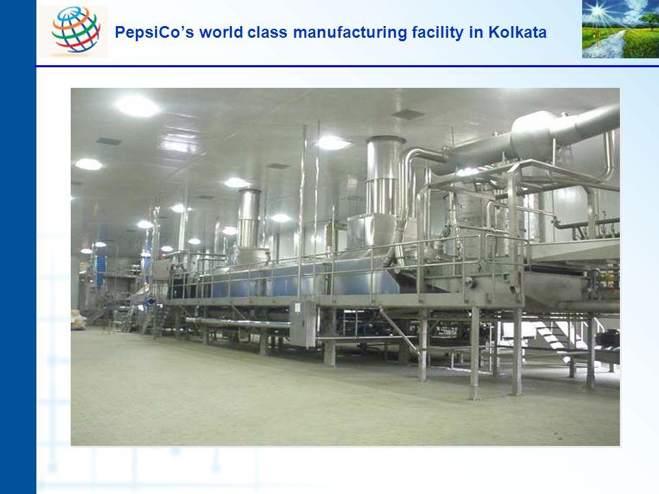 PepsiCos world class manufacturing facility in Kolkata
