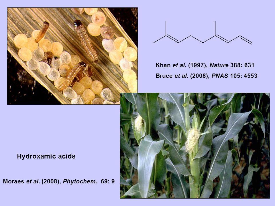 Bruce et al. (2008), PNAS 105: 4553 Khan et al. (1997), Nature 388: 631 Moraes et al.