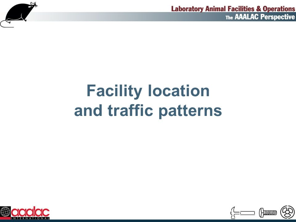 Facility location and traffic patterns