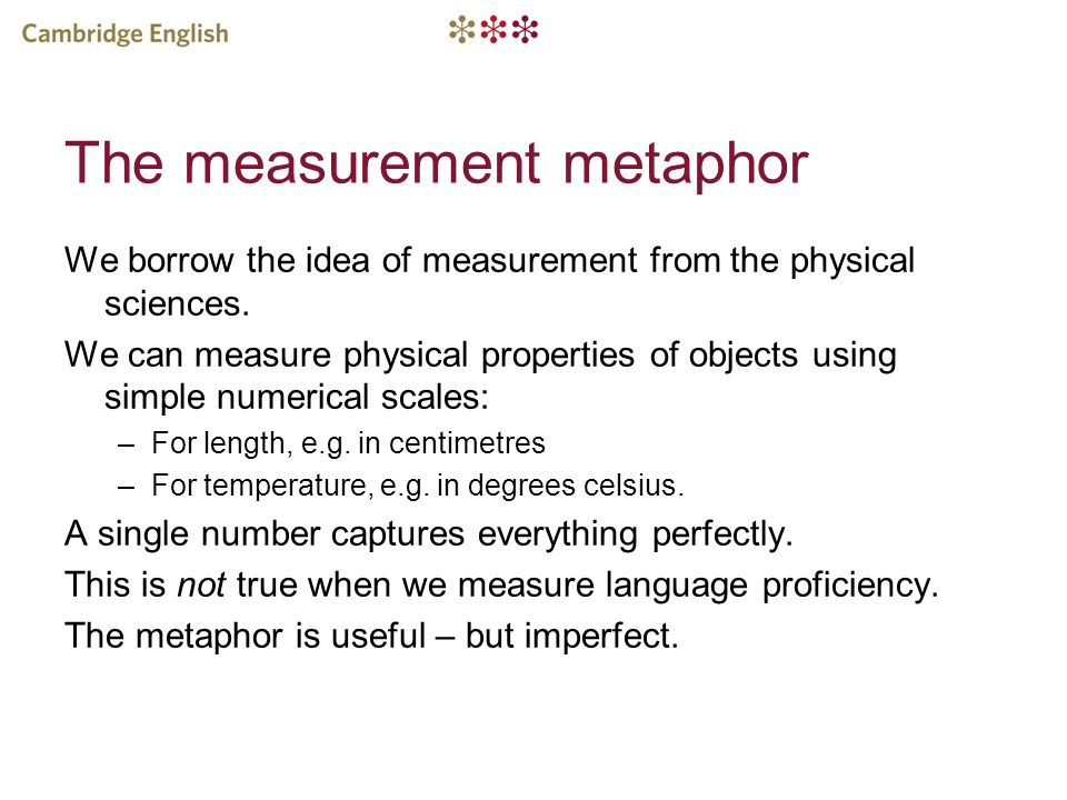 Why cant language proficiency be measured perfectly.