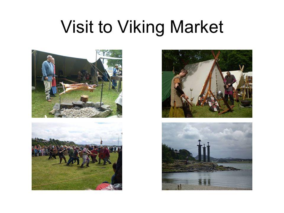 Visit to Viking Market