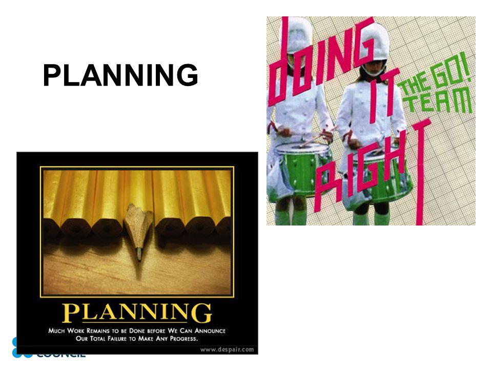 PLANNING DOING
